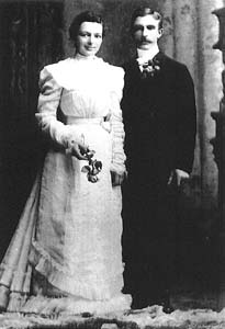 Hattie & Charles Sothmann wedding 1900